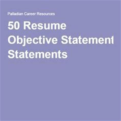 How To Write A Killer Resume Objective & Summary - With
